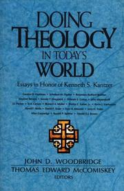 Cover of: Doing Theology in Today's World