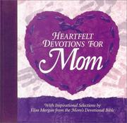 Cover of: Heartfelt Devotions for Mom