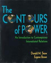 Cover of: The Contour of Power