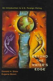 Cover of: Beyond the Water's Edge