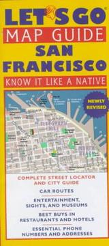 Cover of: Let's Go Map Guide San Francisco (Let's Go Map Guides)