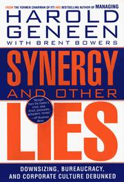 Cover of: Synergy and Other Lies