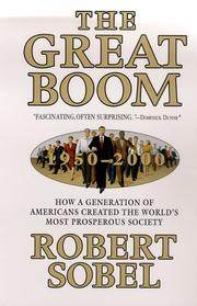Cover of: The Great Boom