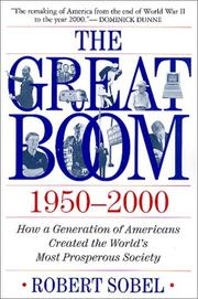 Cover of: The Great Boom 1950-2000