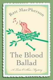 Cover of: The Blood Ballad (Torie O'Shea Mysteries)