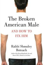 Cover of: The broken American male