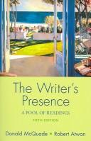 Cover of: Writer's Presence 5e & ix visual exercises