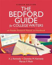 Cover of: The Bedford Guide for College Writers with Reader, Research Manual, and Handbook