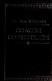 Cover of: The new Webster's concise office guide