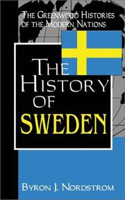 Cover of: The History of Sweden