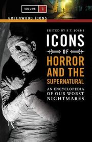 Cover of: Icons of Horror and the Supernatural [Two Volumes]