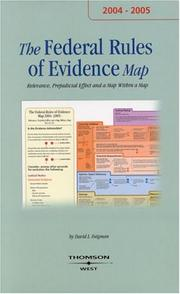 Cover of: The Evidence Map 2004-2005 (Map)
