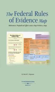 Cover of: Federal Rules of Evidence Map05-06 ed. (Maps)