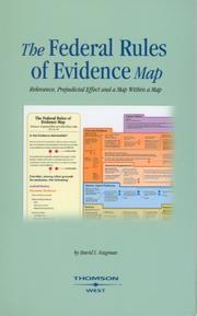 Cover of: The Federal Rules of Evidence Map
