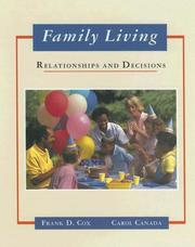 Cover of: Family Living