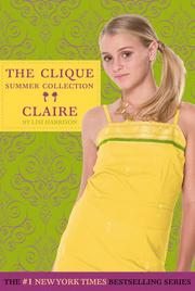 Cover of: Clique Summer Collection #5: Claire (Clique Series)