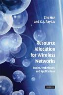 Cover of: Resource allocation for wireless networks