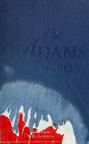 Cover of: The Adams Chronicles