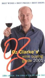 Cover of: Oz Clarke's Wine Buying Guide