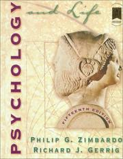 Cover of: Psychology and Life (with SuperSite and MindMatters CD-ROM) (15th Edition)