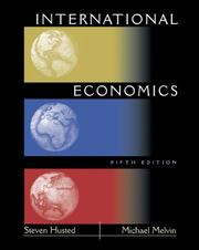 Cover of: International Economics (5th Edition)