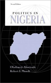 Cover of: Politics in Nigeria (2nd Edition)