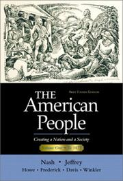 Cover of: The American People, Brief Edition