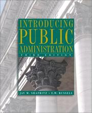 Cover of: Introducing Public Administration (3rd Edition)