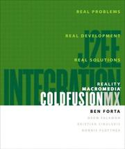 Cover of: Reality Macromedia ColdFusion MX
