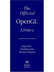 Cover of: Official Opengl Library
