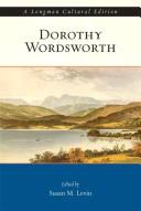 Cover of: Dorothy Wordsworth, A Longman Cultural Edition