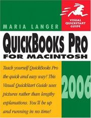 Cover of: QuickBooks Pro 2006 for Macintosh