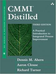 Cover of: Cmmi Distilled