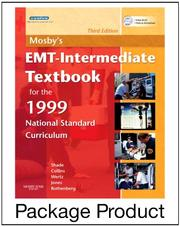 Cover of: Mosby's EMT-Intermediate Textbook for 1999 National Standard Curriculum - Text and Workbook Package