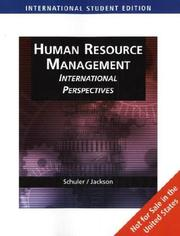 Cover of: Managing Human Resources