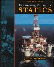 Cover of: Engineering Mechanics Statistics and Dynamics