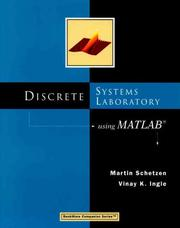 Cover of: Discrete Systems Laboratory Using MATLAB (Bookware Companion Series (Pacific Grove, Calif.).)