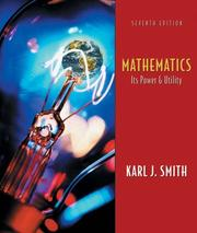 Cover of: Mathematics