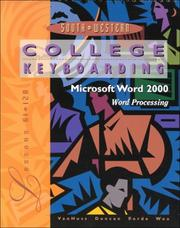 Cover of: College Keyboarding Microsoft Word 2000, Lessons 61-120