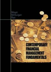 Cover of: Contemporary Financial Management Fundamentals with Thomson ONE