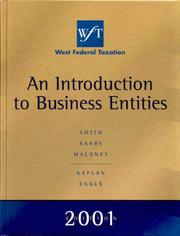 Cover of: West Federal Taxation 2001 Edition