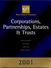 Cover of: 2001 Edition West's Federal Taxation