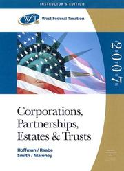 Cover of: Corporations, Partnerships, Estates and Trusts