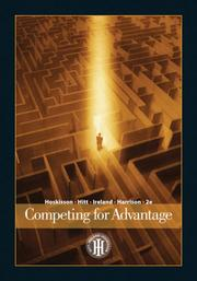 Cover of: Competing for Advantage