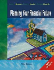 Cover of: Tax Update of Planning Your Financial Future