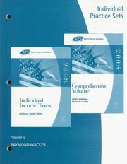 Cover of: Practice Sets for Hoffman/Smith/Willis' West Federal Taxation