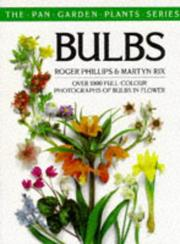 Cover of: Bulbs (The Pan Garden Plants Series)