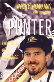 Cover of: Ricky Ponting