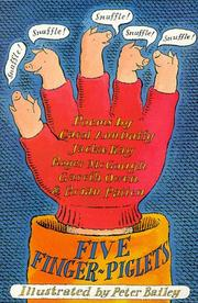 Cover of: Five Finger-piglets