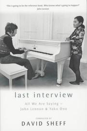 Cover of: Last Interview
